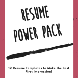 Resume Power Pack