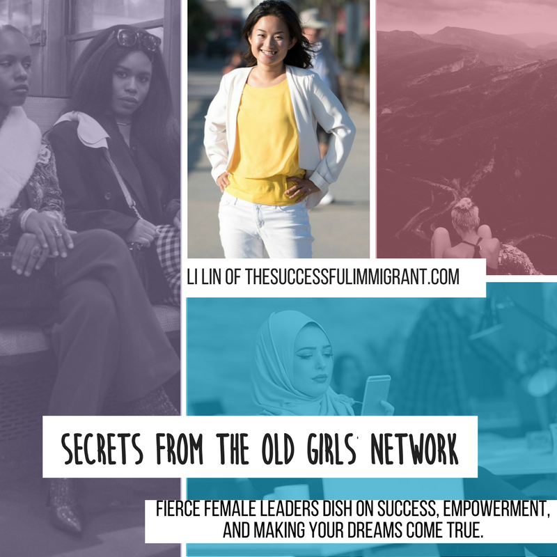 Overcoming Obstacles – Secrets From the Old Girls Network – Li Lin